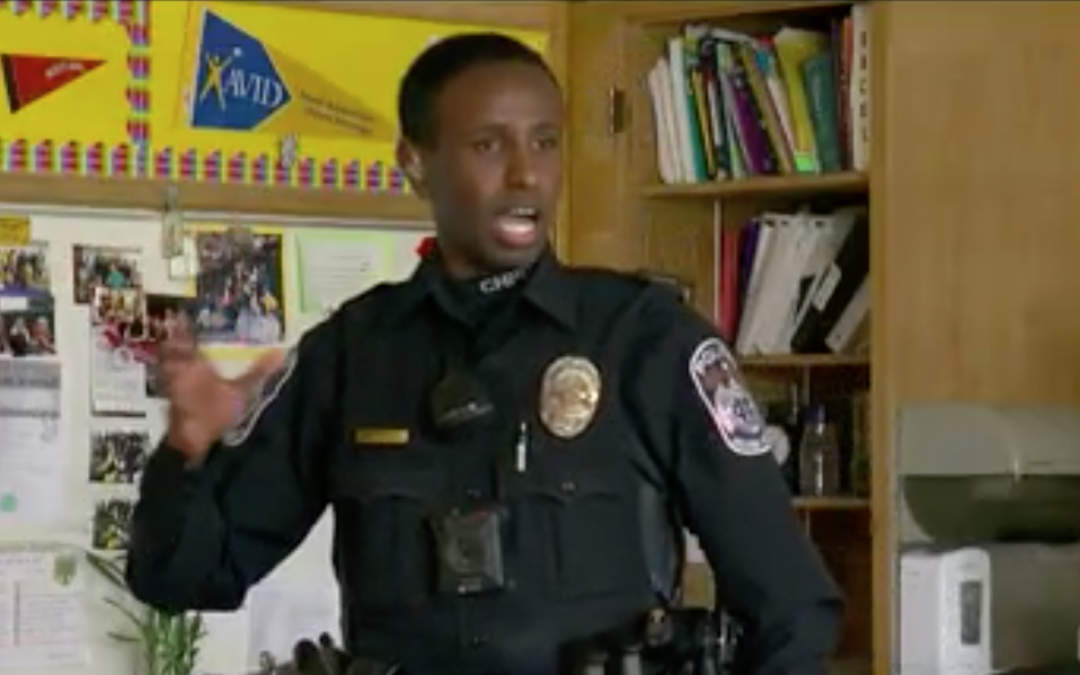 D.A.R.E.'S 'Officer Mo' Connecting With Students In Columbia Heights