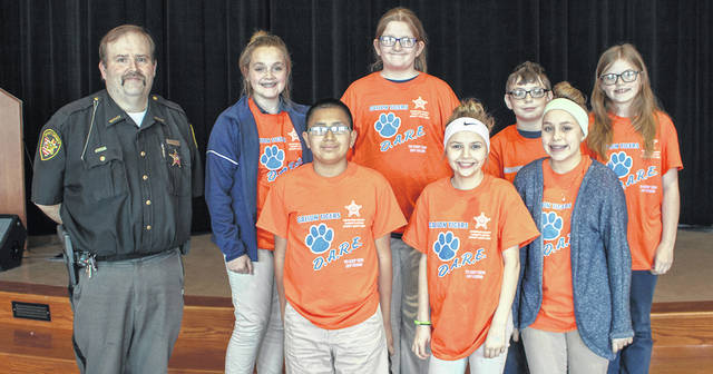 Galion Sixth Graders Celebrate D.A.R.E. at Graduation Program
