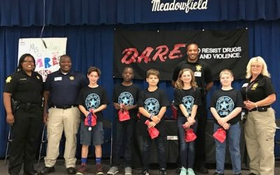 Meadow Field Elementary D.A.R.E. Graduation (Columbia, SC)