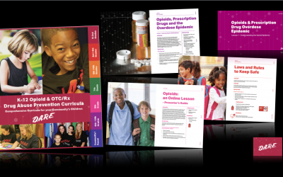 D.A.R.E. Launches K-12 Opioid and OTC/RX Drug Abuse Prevention Curricula
