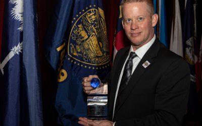 Officer Craig Seibel Receives D.A.R.E.'s 2018 Daryl F. Gates Lifetime Achievement Award