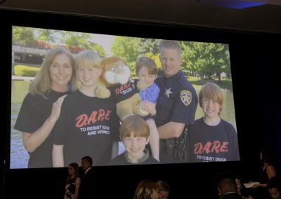 Officer Craig Seibel Receives D.A.R.E. Lifetime Achievement Award