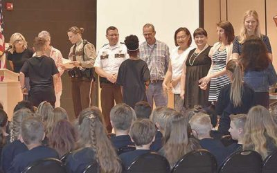Sheriff Attends 5th-Grade Graduation