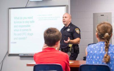 School Drug Prevention Program Puts New Focus on Opioids