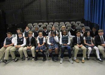 Calverton School Holds 5th Grade D.A.R.E. Graduation