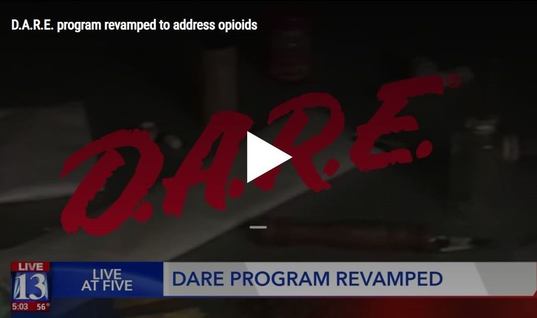 D.A.R.E. Fights Opioid Crisis with New Lesson Plans