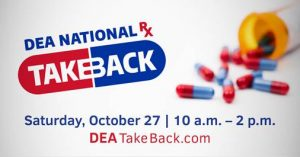 National Prescription Drug Take Back Day @ Multiple venues, visit the event website to see locations. | United States