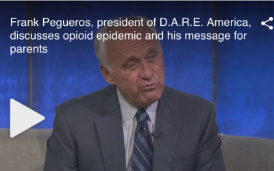 Frank Pegueros, President of D.A.R.E. America, discusses Opioid Epidemic and his Message for Parents