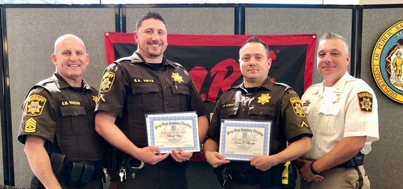Charles County Sheriff's Officers Complete D.A.R.E. Instructor Training