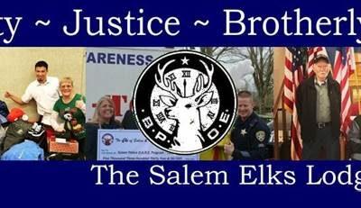 Local Elks Lodge Supports Salem Police D.A.R.E. Program