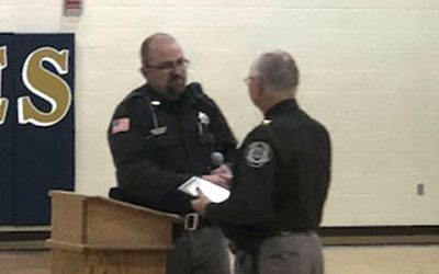 Sheriff Radcliff Recognized for Dedication to D.A.R.E. Program