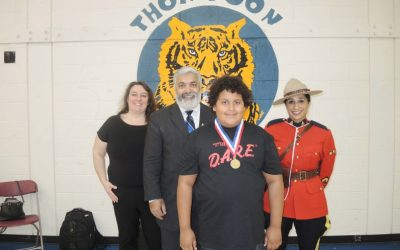 Richmond Mom Beams with Pride after Son's D.A.R.E. Award