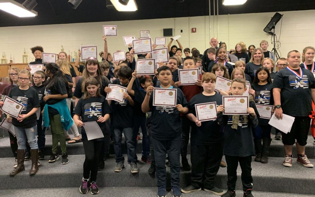 Eastfield Students Graduate D.A.R.E.