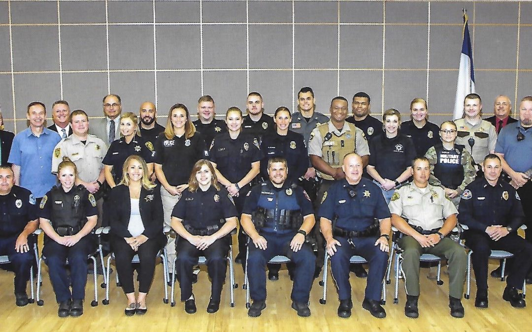 Iowa Law Enforcement Publication Features 2019 Iowa DOT Graduates