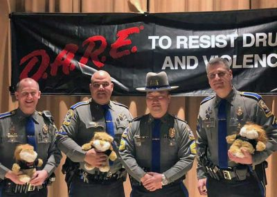24 Police Officers Graduate from D.A.R.E. Program