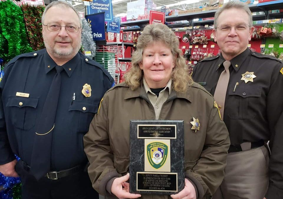 Pam Tourdot Retires After Almost 25 Years as D.A.R.E. Instructor