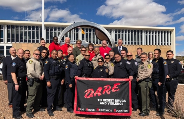 LCPD Hosts D.A.R.E. Officer Training Course