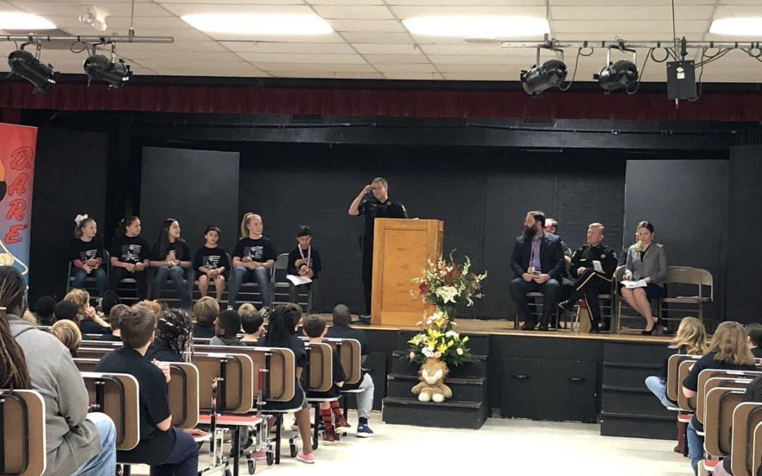 Midlands Students Receive Big Donation at Annual D.A.R.E Graduation