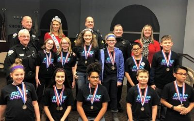 Troy Students Graduate from D.A.R.E. Program