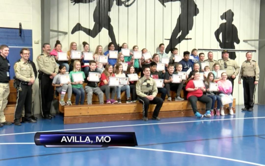 Avilla Schools D.A.R.E. Graduation