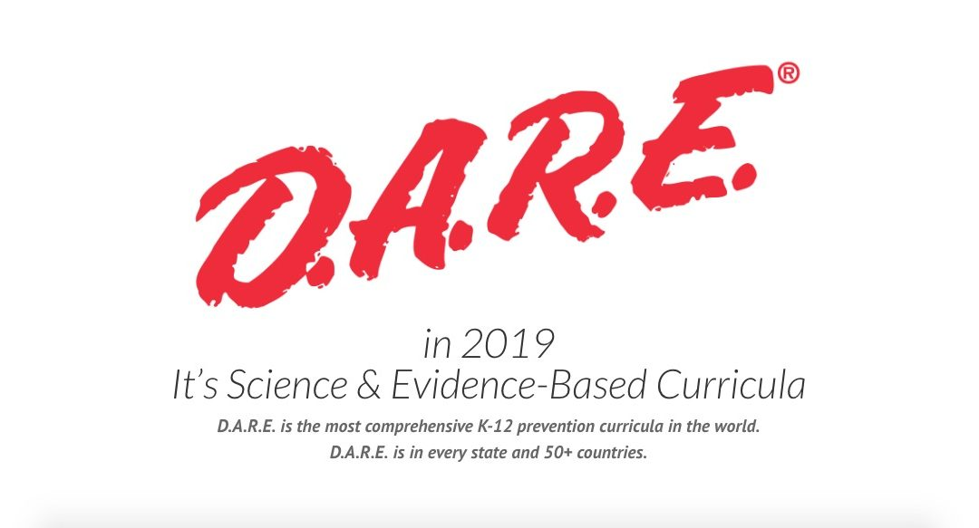 D.A.R.E. in 2019 – It's Science & Evidence-Based Curricula