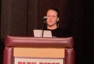 Julia Manning, NJ YAB, Speaks at Park Ridge D.A.R.E. Graduation