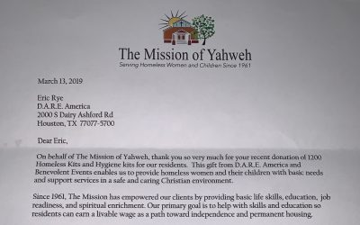 February 2019 KARE Donation to The Mission of Yahweh