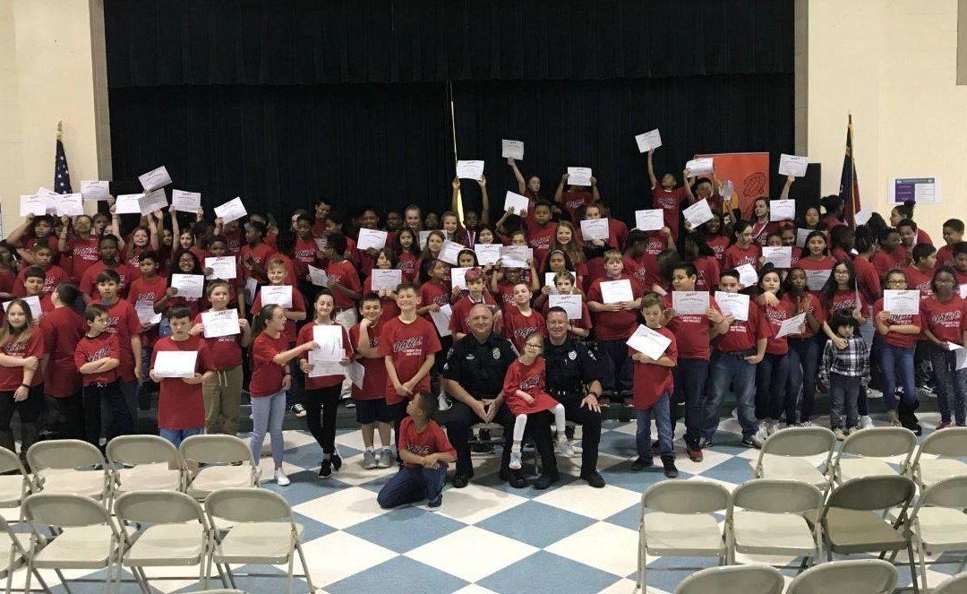 Rocky River Elementary Celebrates D.A.R.E. Graduation