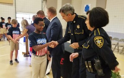 W.T. Lewis Holds First D.A.R.E. Graduation Ceremony Thursday Morning