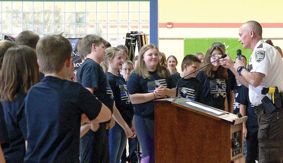 Chatfield Sixth Graders Complete D.A.R.E. Program with Special Ceremony Last Week