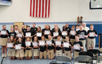 Bristol Borough Students Graduate D.A.R.E. Program