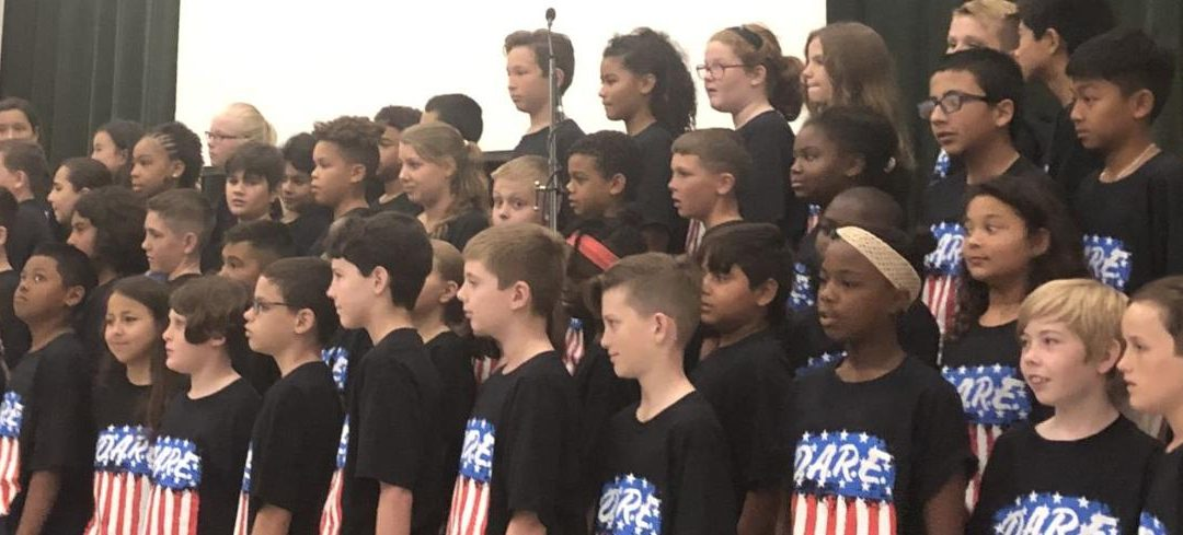 144 Elementary Students Complete D.A.R.E. Program
