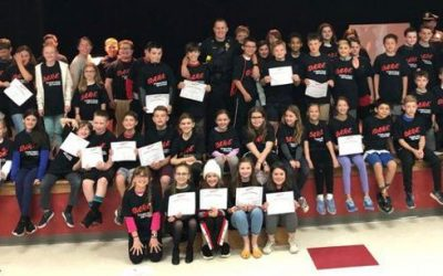 Bagnall Students Graduate from D.A.R.E.