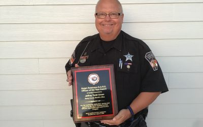 Green Awarded D.A.R.E. Officer of the Year