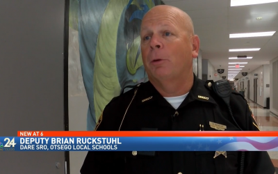 Local School Resource Officer, Deputy Brian Ruckstuhl, Recognized by the State