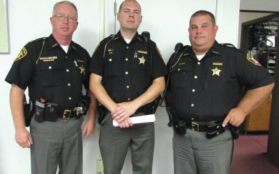 County Sheriff and Deputies Address Preble Shawnee School Board