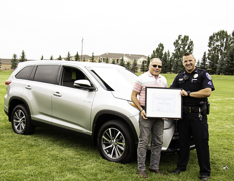 Rexburg Wins National Contest and Gifted New Car for D.A.R.E.
