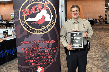 Tazewell Deputy Recognized As D.A.R.E. Officer Of The Year