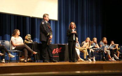 Andrea Cook Receives Lifetime D.A.R.E. Graduate Award
