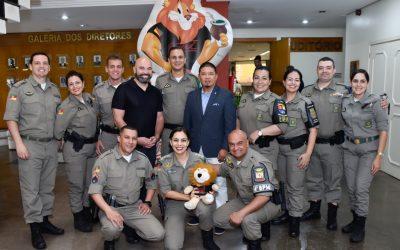 Brazil Training Center Awarded Re-Accreditation Certificate