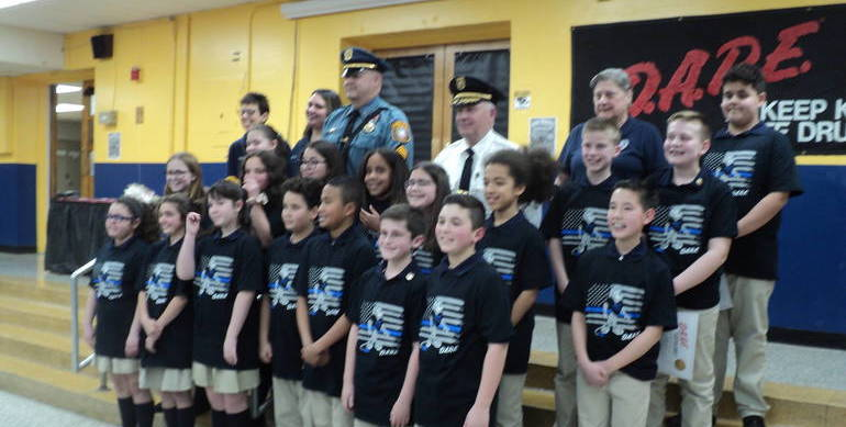 30th Annual D.A.R.E. Culmination Celebrated at Corpus Christi School