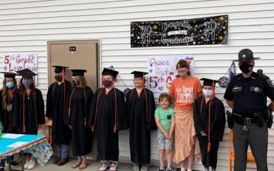 D.A.R.E. Graduation 2021 at Crichton Elementary in Quinwood, WV