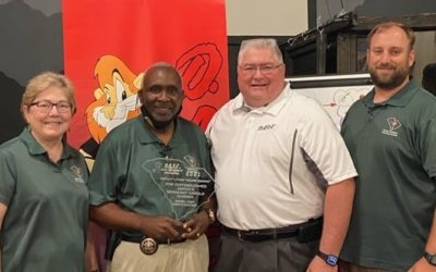 Donald Danner Presented with the 2021 Larry Young Distinguished Service Award