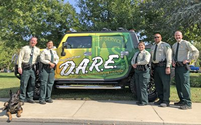 Forest Service Law Enforcement Use D.A.R.E., Other Strategies To Combat Drugs
