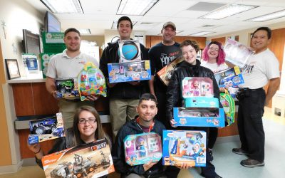KARE Toy Donation to HCA Houston Healthcare Clear Lake
