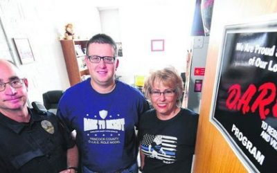 BACK TO SCHOOL: County's New D.A.R.E. Officer Set to Give Back to Program that Helped Him