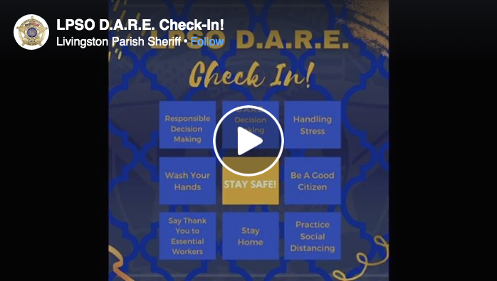 'Can't wait to see you guys again' | Livingston Parish D.A.R.E Officers Send Video Message to Students