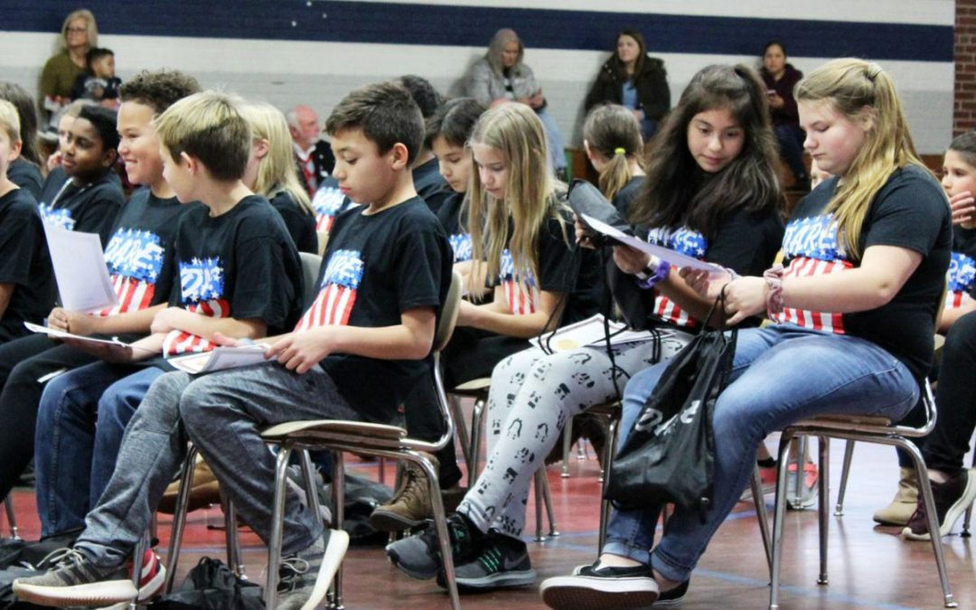Maiden 5th Graders Celebrate D.A.R.E. Graduation