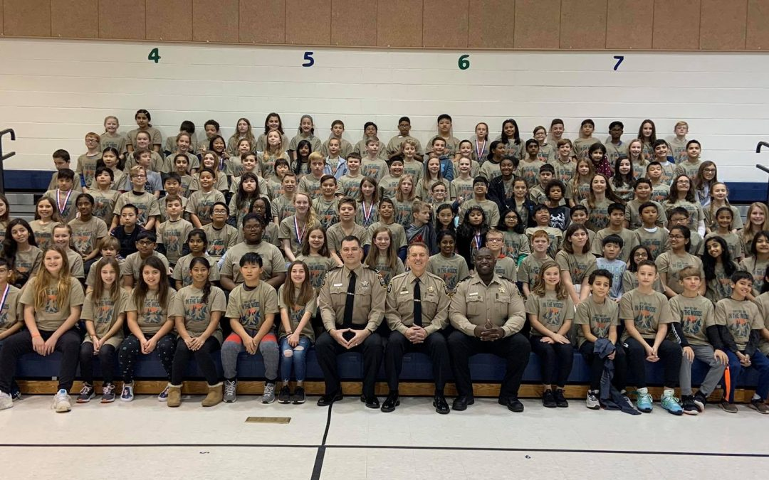 Newton-Lee Elementary School D.A.R.E. Graduation