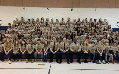 Newton-Lee Elementary School D.A.R.E. Graduation